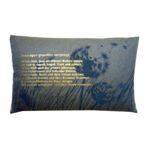 Cushions: dandelion