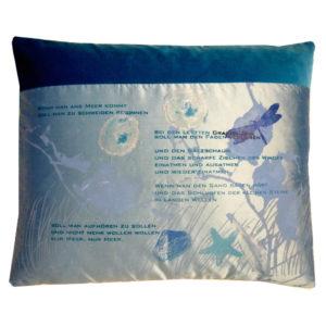 Cushions: The sea